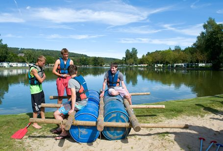 Camping Le Val de l'Aisne - Belgien - Ardennen