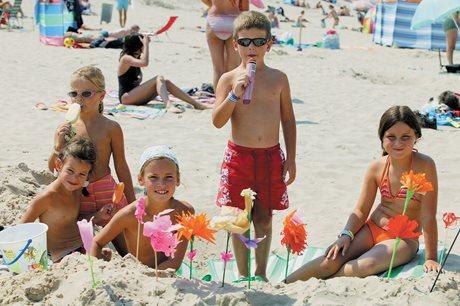 Camping Strand Westende - Belgien - Belgiske kyst