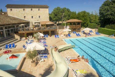 Camping Château de Boisson - France - Languedoc-Roussillon