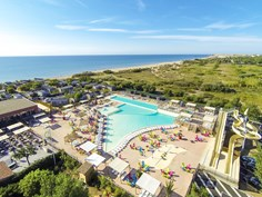 Camping Beach Garden Frankrig,Languedoc Roussillon bestil campinglads