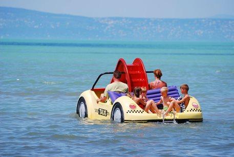 Camping Village Aranypart - Hongarije - Balatonmeer
