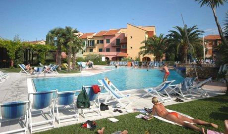 Residence I Cormorani - Italië - Bloemenrivièra