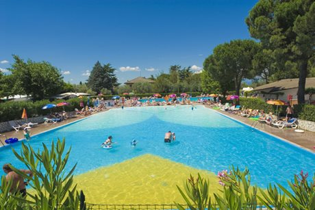 Camping Cisano / San Vito - Włochy - Jezioro Garda