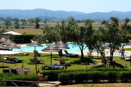 Park Wakacyjny Le Corti di Montepitti - Włochy - Toskania